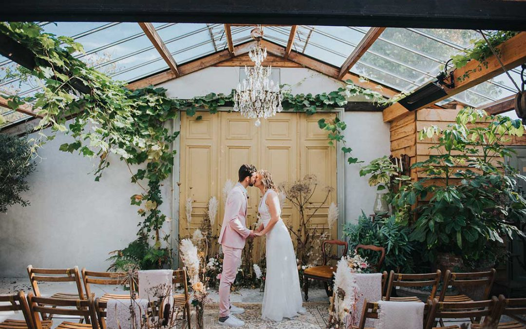 Conscious Greenhouse Wedding